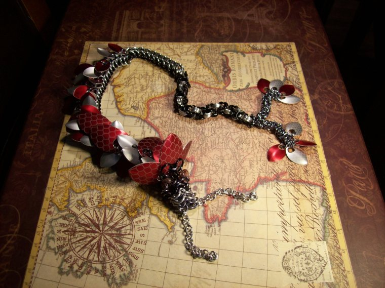 Toast the chainmaille dragon